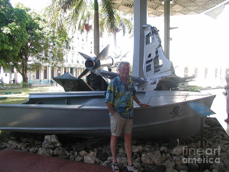 Jimmy Buffett Photograph - Fidels Pirate Ship by Desiderata Gallery