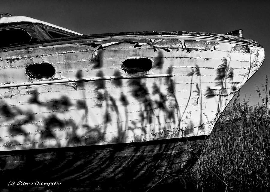Old Boat Photograph - Field Of Boats by Glenn Thompson