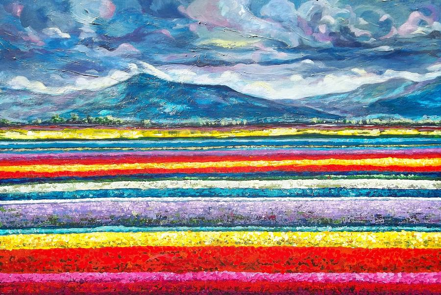 Nature Painting - Field Of Dreams by Suzanne King