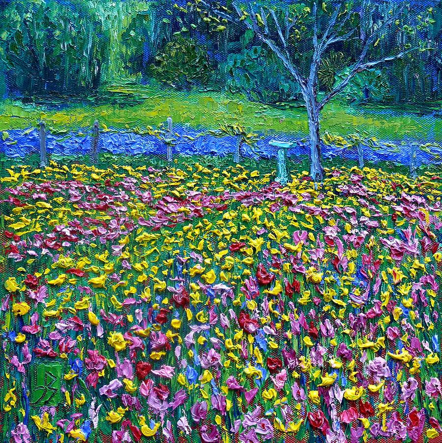 Field of Flowers by Linda J Bean
