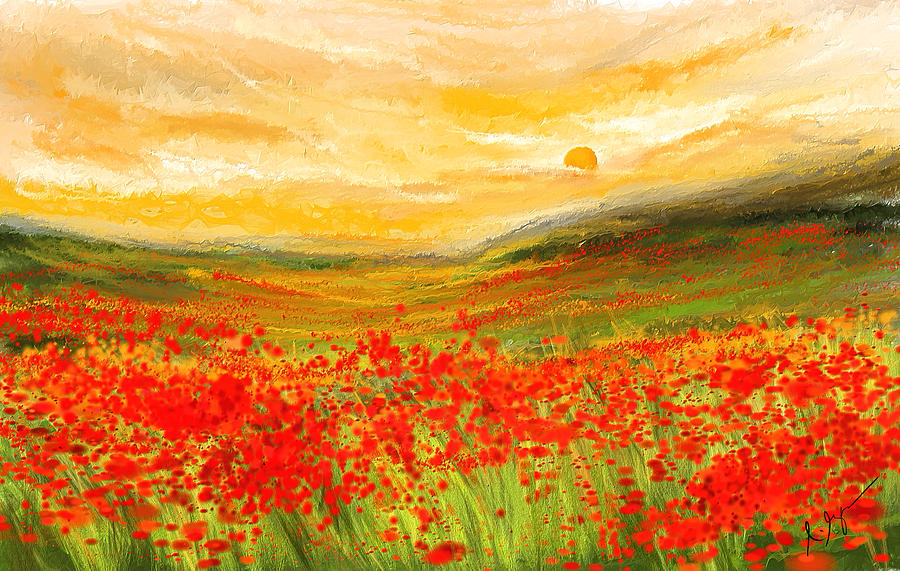 Image result for impressionist field painting