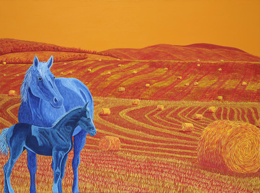 Fields Of Gold Painting by Heather McLean