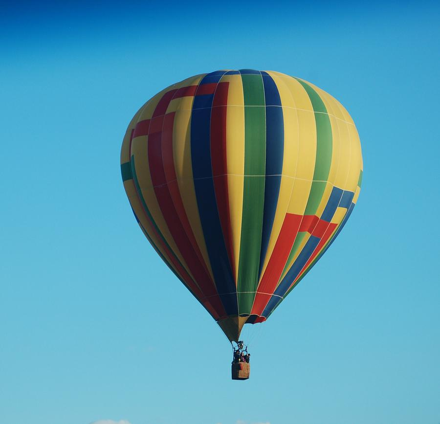 Balloon Fiesta Photograph - Fiesta  by Miguelito B