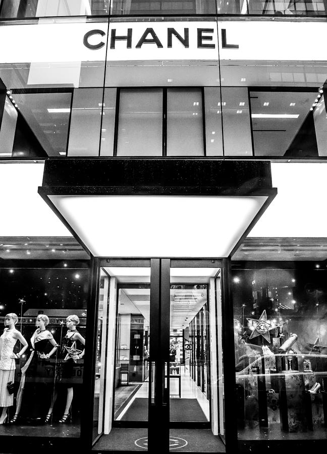 Fifth avenue chanel store new york photograph by william for Craft stores in nyc