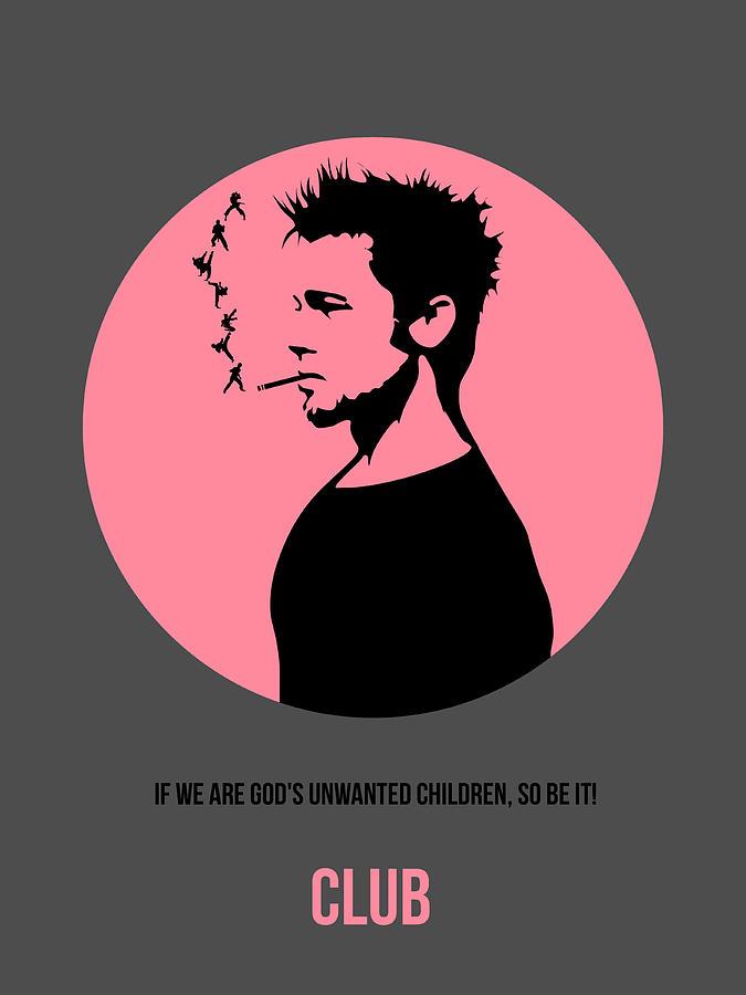 Fight Club Digital Art - Fight Club Poster 1 by Naxart Studio