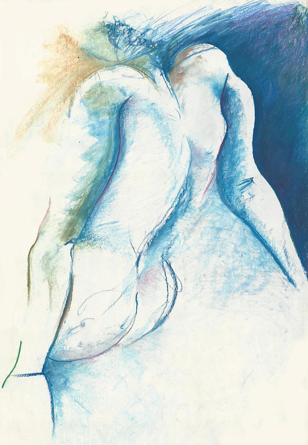 Figurative Drawing - Figurative Abstract by Melinda Dare Benfield