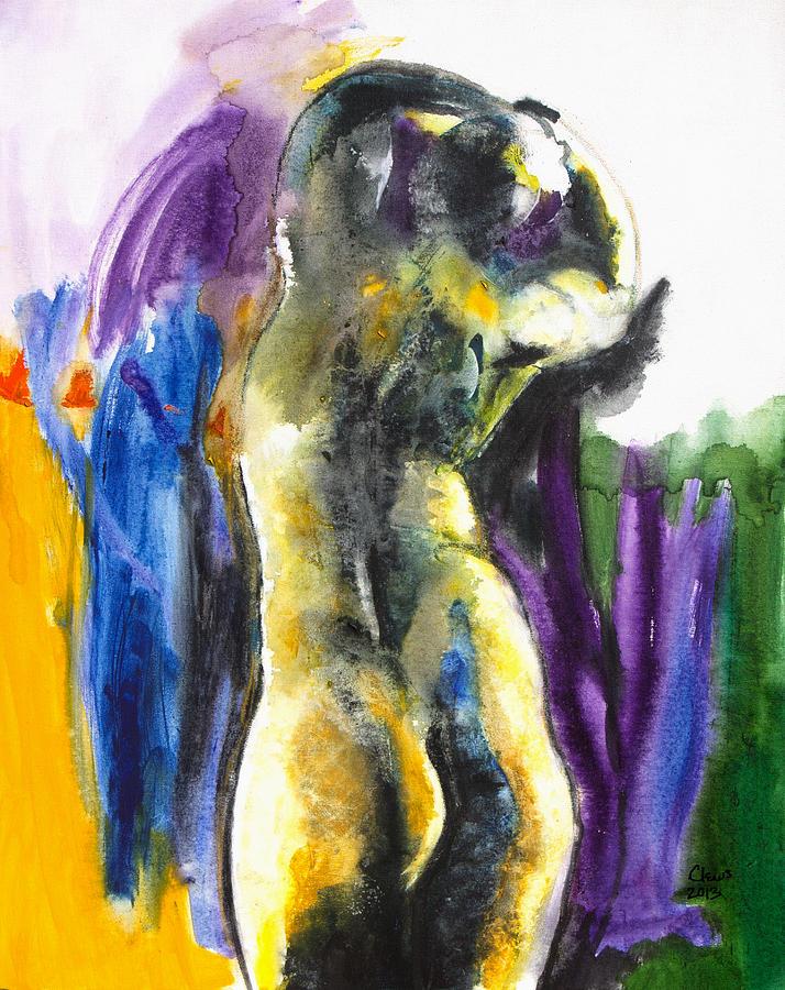 Painting Painting - Figure by Brenda Clews