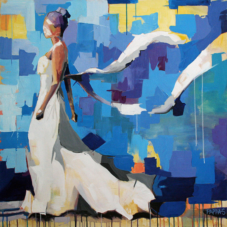 Art Painting - Figure I by Julia Pappas
