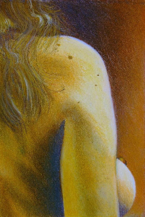 Nude Painting - Figure Study by Scott Kingery