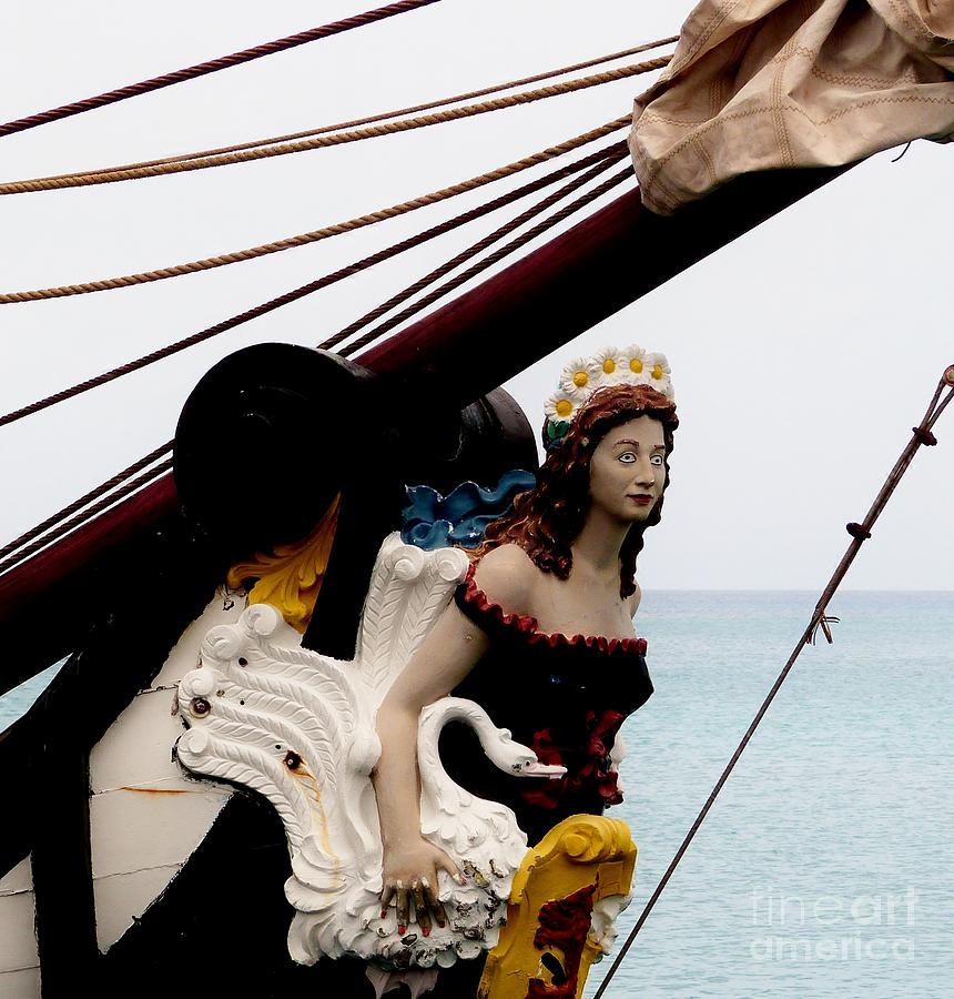 Color Photograph - Figurehead by Amar Sheow