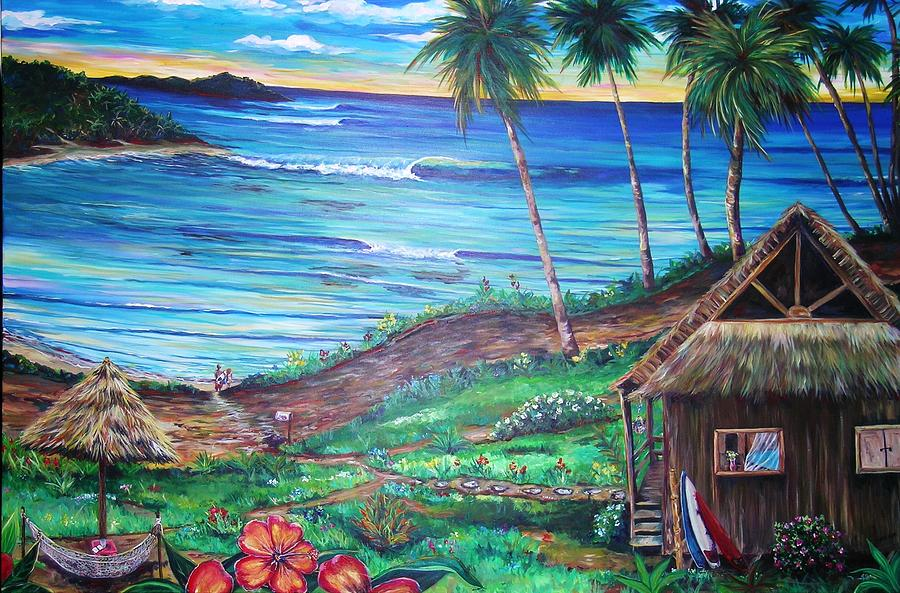 Afternoon Delight Painting by Mary Giacomini |Fijian Artwork