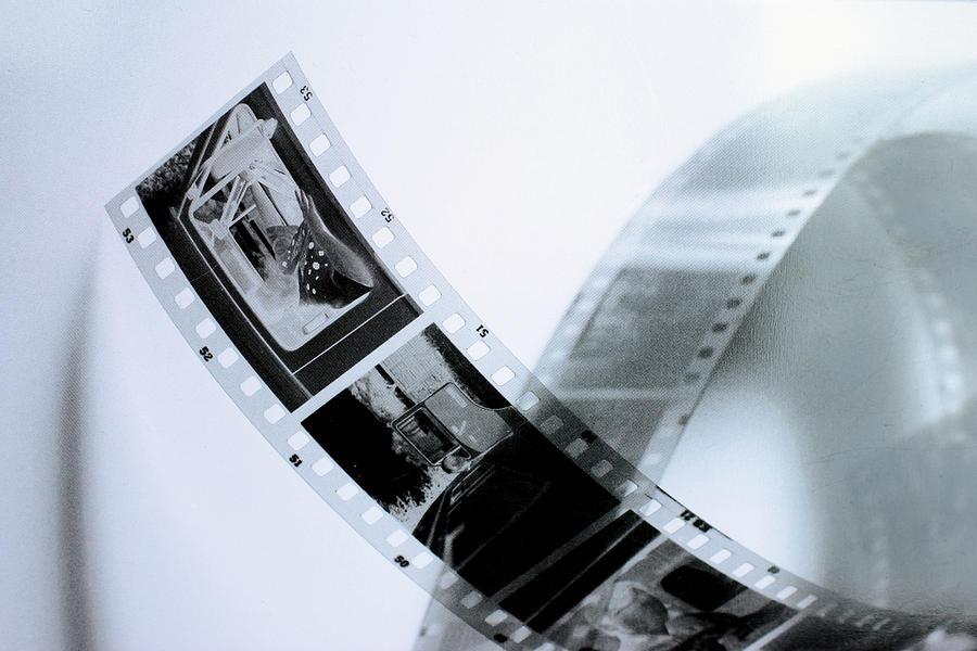 Slide Photograph - Film Strips by Tommytechno Sweden