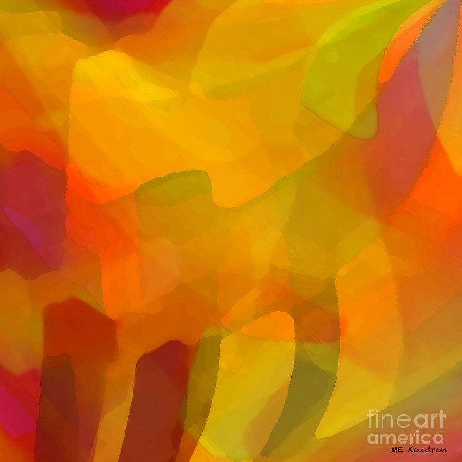 Abstract Digital Art - Filtered by ME Kozdron
