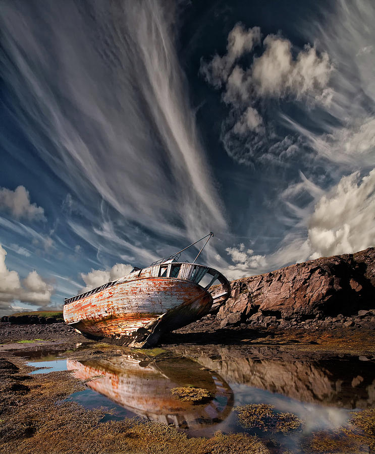 Wreck Photograph - Final Place by ?orsteinn H. Ingibergsson