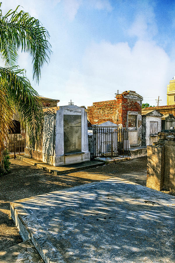 The Big Easy Photograph - Final Resting Place by Sennie Pierson