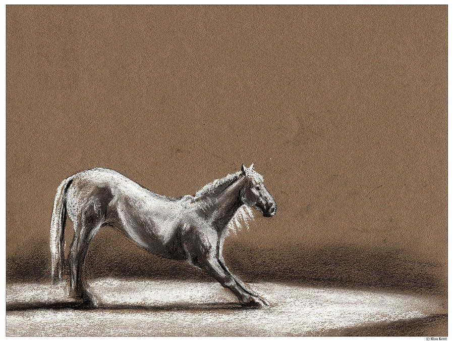 Horse Drawing - Finale by Risa Kent