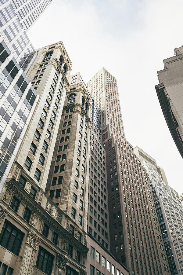 Financial District, New York City Photograph by Tuan Tran