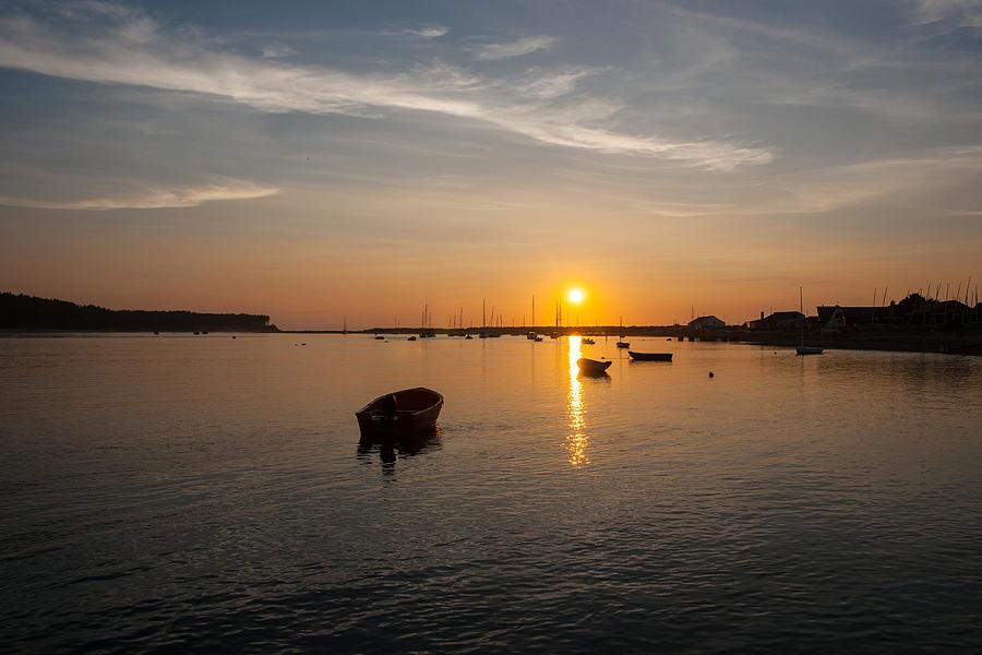 Findhorn Sunset by Max Blinkhorn