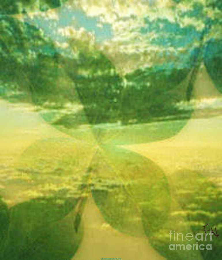 Mixed Media Digital Art - Finding Your Clover by PainterArtist FIN