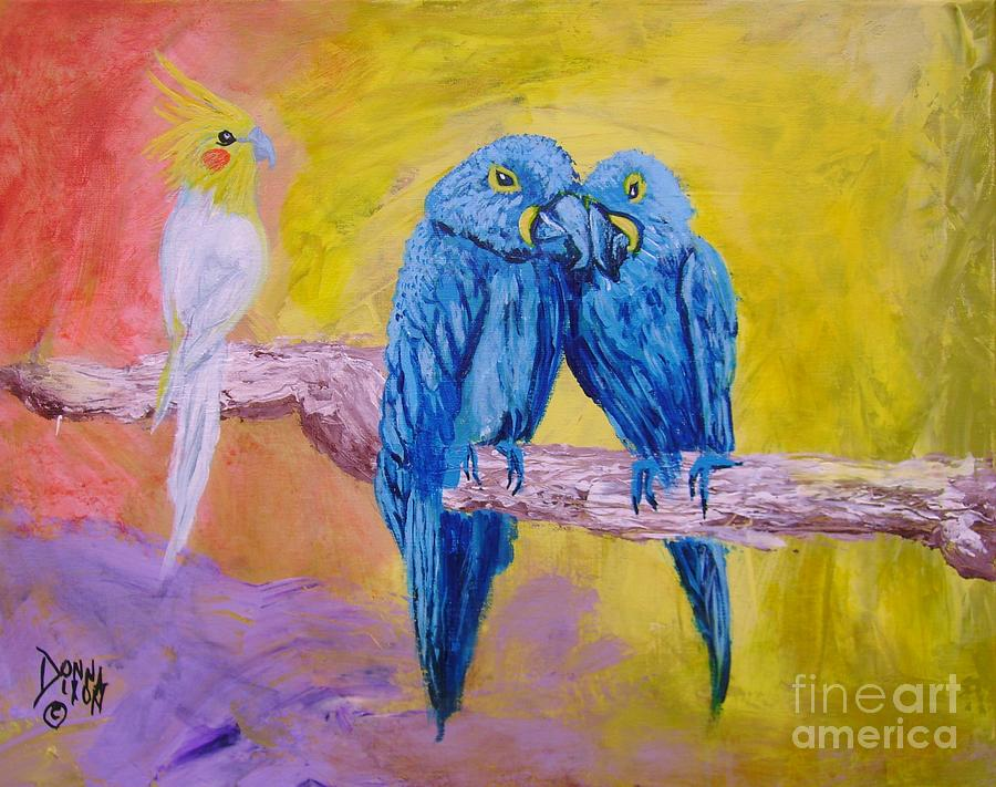 Fine Feathered Friends 1 by Donna Dixon