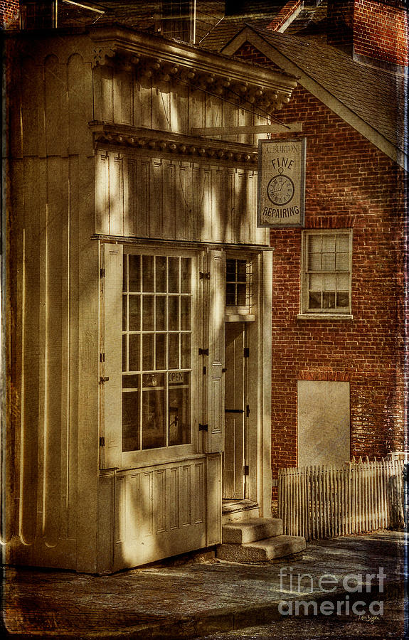 Store Photograph - Fine Repairs by Lois Bryan