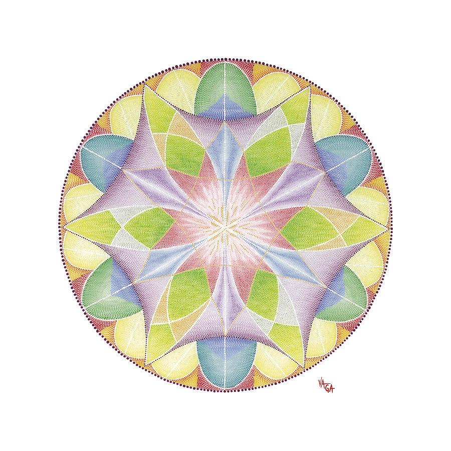 Mandala Painting - Finer World by Vanda Omejc