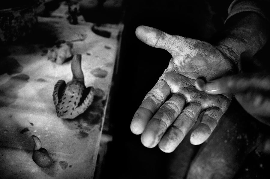 Street Photography Photograph - Finishing Touches by Ilker Goksen