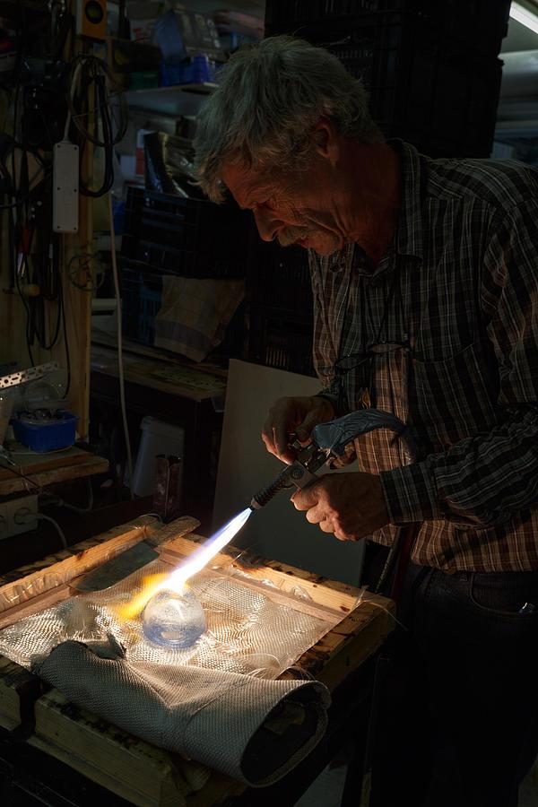 Artist Photograph - Finishing Touches  by Paul Indigo