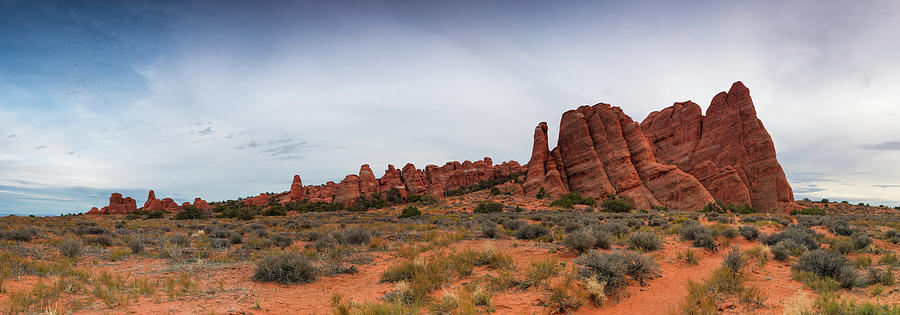 Fins Near Sand Dune Arch, Arches Photograph by Fotomonkee