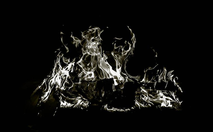 Fire Photograph - Fire  by Alicia Romano