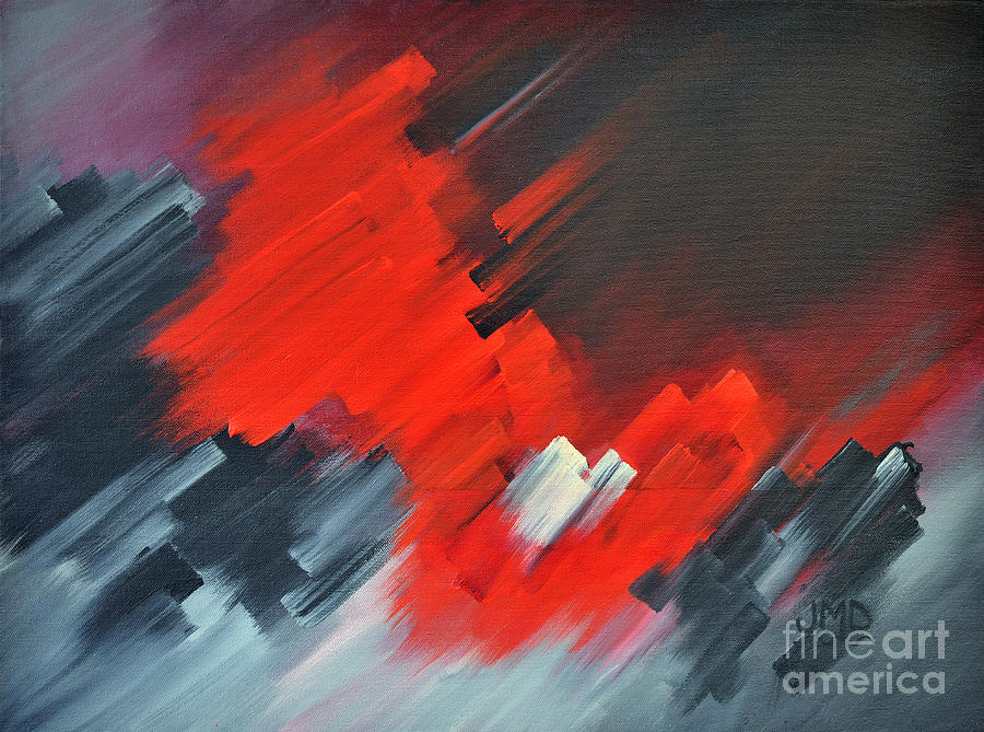 Sheffield Village Painting - Fire And Ice by Janice DeAngelis
