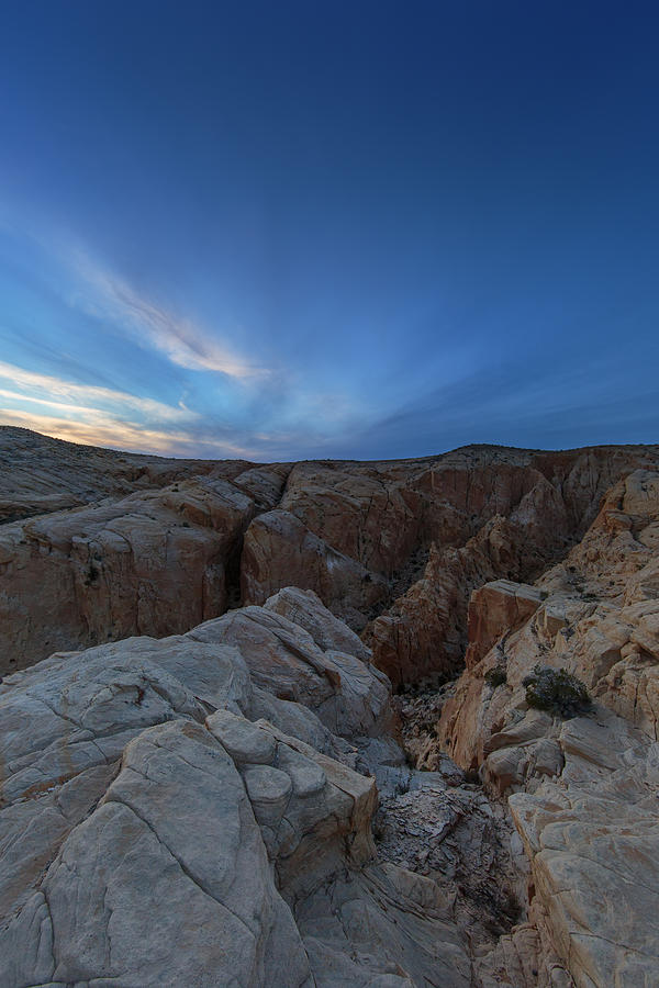 Fire Canyon Afterglow Photograph