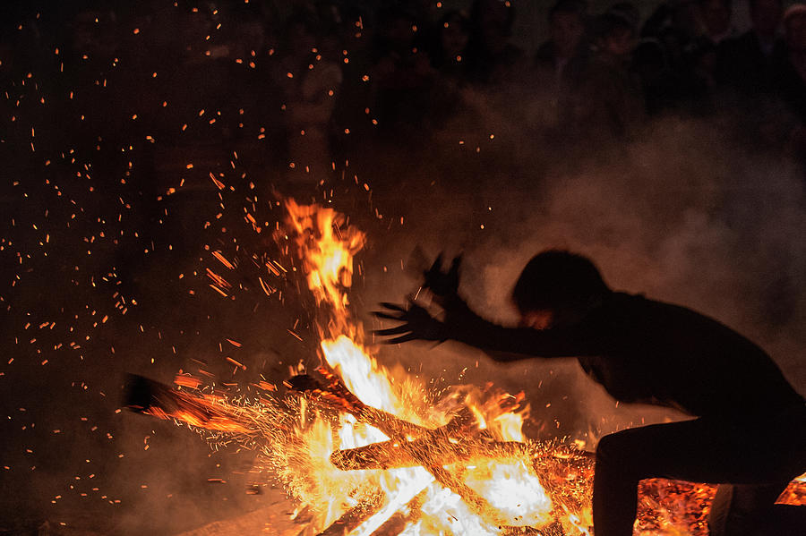 Fire Dance Photograph by By Hoang Hai Thinh