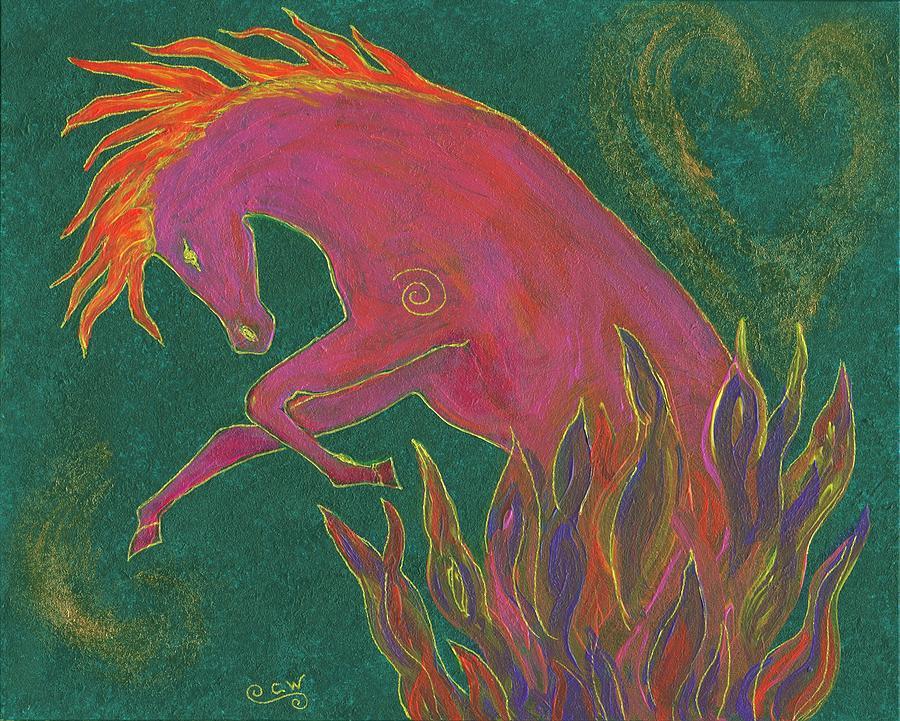 Fire Dancer by Carey Waters
