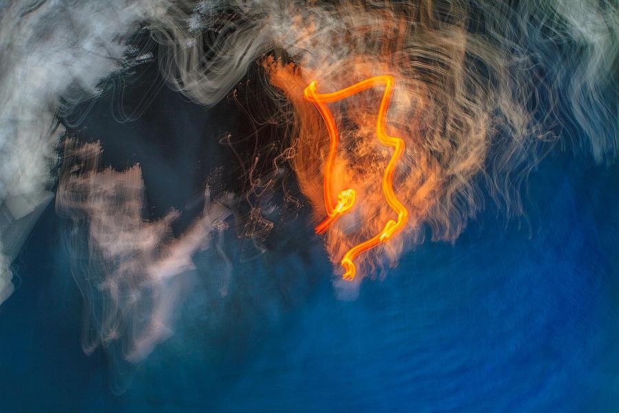 Abstract Photograph - Fire Emblem by Steve Belovarich