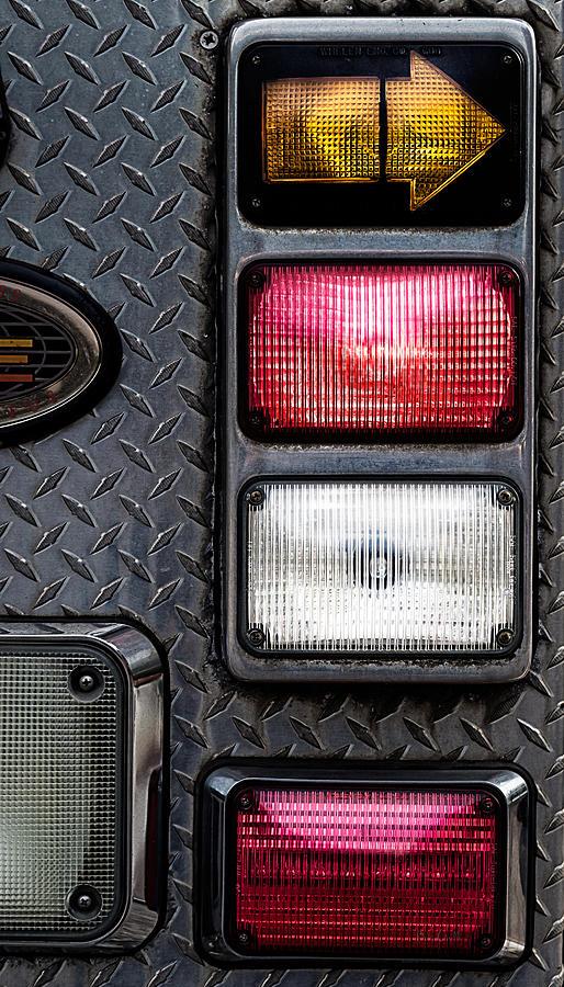 Firetruck Photograph - Fire Engine  by Bob Orsillo