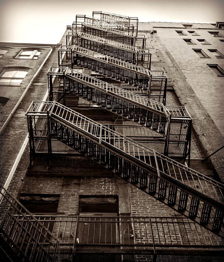 Fire Escape Photograph - Fire Escape by Alicia Romano