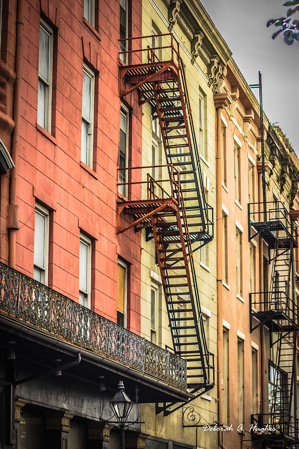 Fire Escapes by Deborah Hughes
