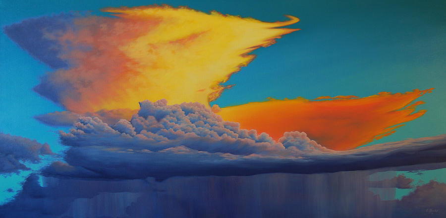 Fire In The Sky by Cheryl Fecht