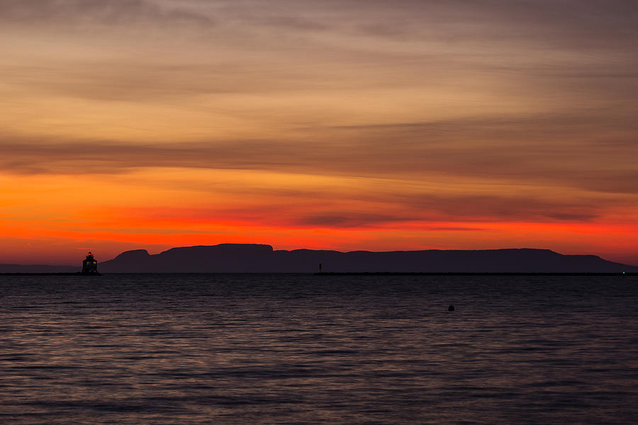 Sunrise Photograph - Fire In The Sky by Linda Ryma