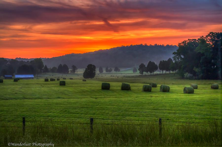 Day Photograph - Fire In The Sky by Paul Herrmann