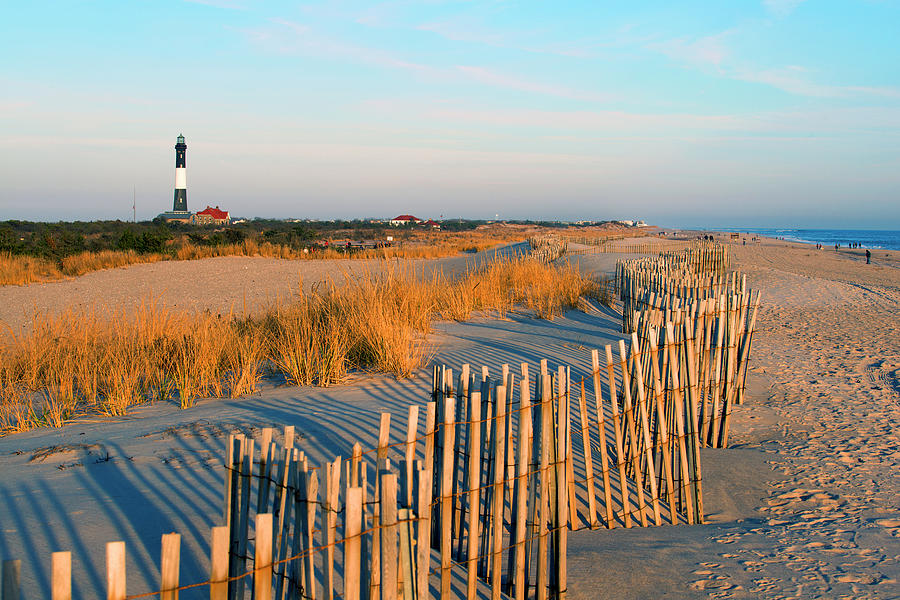 Fire Island Lighthouse, Long Island, Ny Photograph by Rudi Von Briel