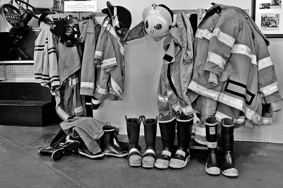 Beaumont Photograph - Fire Museum Beaumont Tx by Christine Till