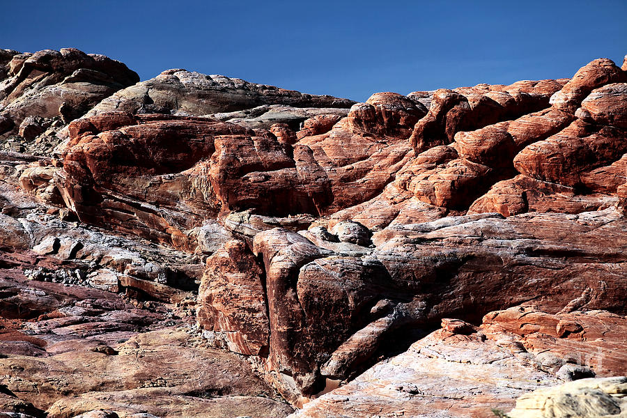 Fire Rocks Photograph - Fire Rocks by John Rizzuto
