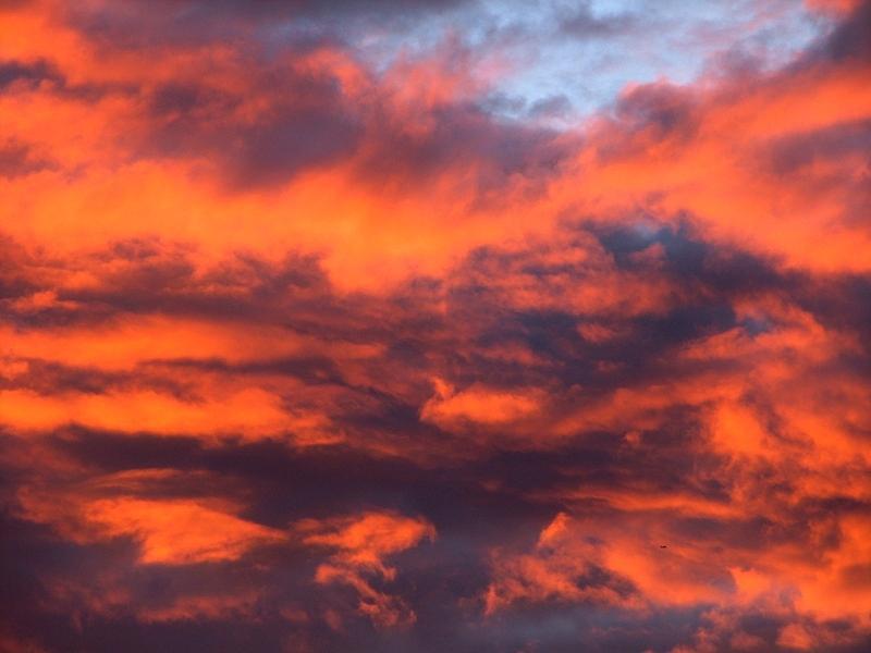 Oregon Photograph - Fire Sky by Chris Dunn