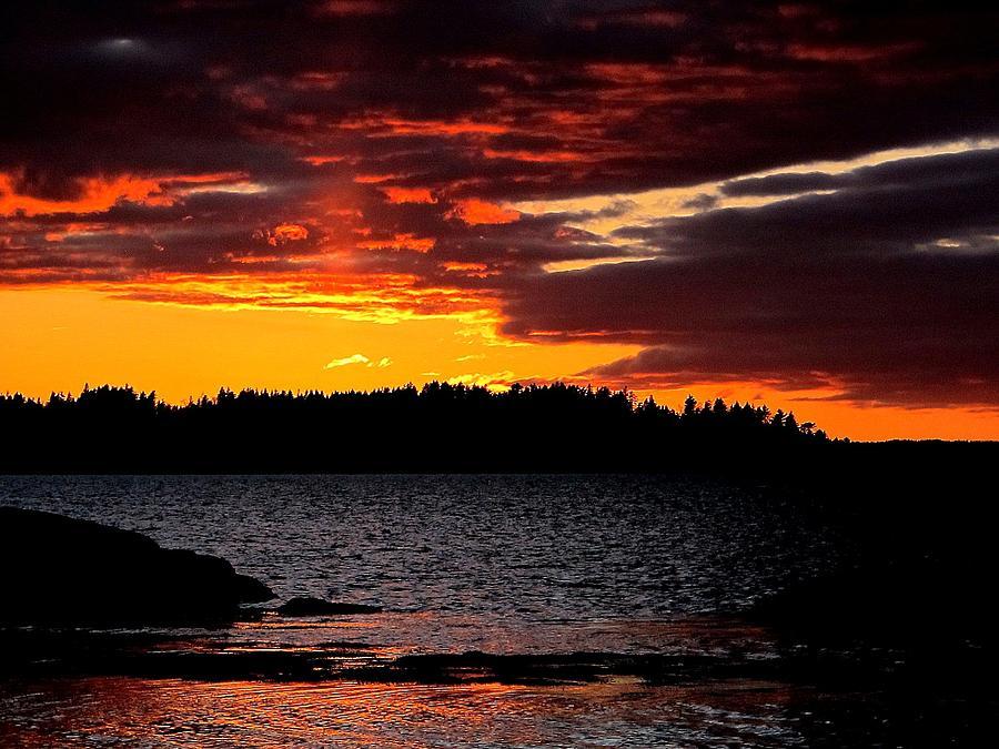 Fire Sky Photograph
