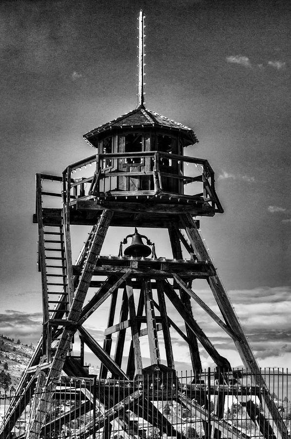 Fire Tower Photograph - Fire Tower 2 by Fran Riley