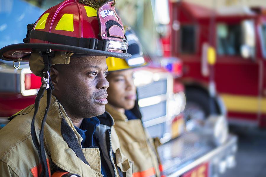 Firefighter Photograph by Lpettet