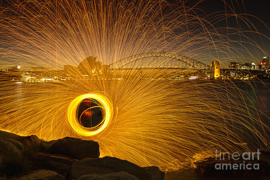 Sydney Photograph - Fireflies by Andrew Paranavitana