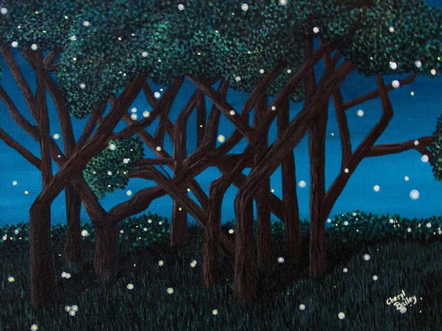 Fireflies by Cheryl Bailey